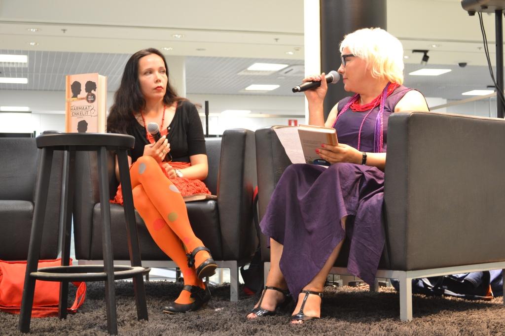 Taija Tuominen haastatteli Mila Terästä.